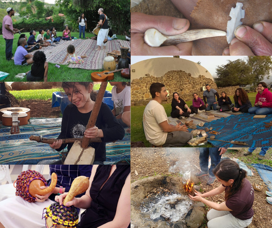 Traditional crafts workshops from Benei Adama experts